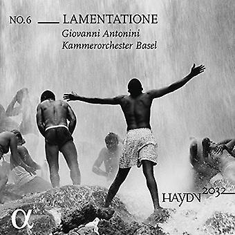 Haydn / Kammerorchester Basel - Lamentatione [CD] Importación de Estados Unidos