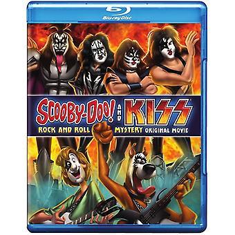 Scooby-Doo & Kiss: Rock & Roll Mystery [BLU-RAY] USA import