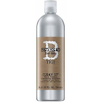 Tigi Professional Bed Head for Men Clean up Daily shampoo