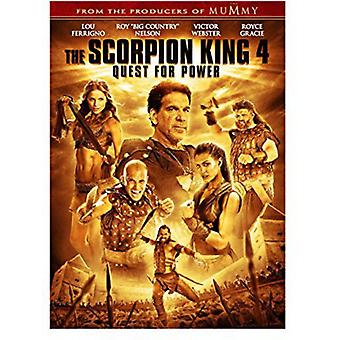Scorpion King 4: Quest for Power [DVD] Yhdysvallat tuoda