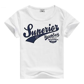 Summer Cotton Short Sleeve T-Shirt, Superior, Infant
