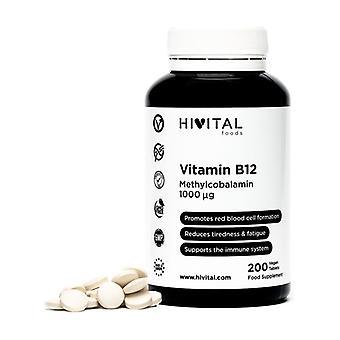 Vitamin B12 Methylcobalamin 1000 mcg 200 tablets