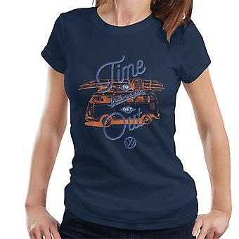 Volkswagen Time To Get Out T1 Camper Women's T-Shirt