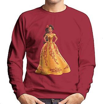 Disney Elena, Avalor Yellow mekko Pose miesten ' s College pusero