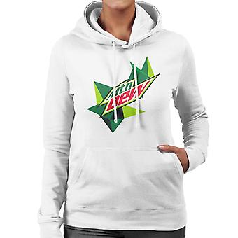 Mountain Dew Original Logo Women's Hooded Sweatshirt