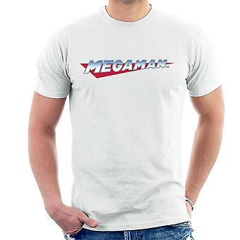 Mega Man Retro Logo Men's T-Shirt