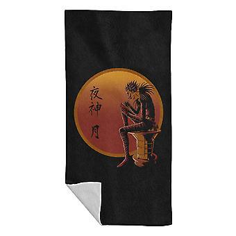 Ryuk On Sunset Death Note Beach Towel
