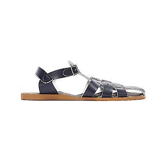 Salt Water Shark Youth Navy Sandals