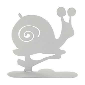 White Snail Spiral Holder 1 unit