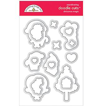 Doodlebug Design Noël Magic Doodle Coupes