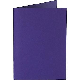 Papicolor 6X بطاقة مزدوجة A6 105x148 ملم Deeppurple