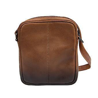Primehide Womens Small Leather Tablet Bag Crossbody Shoulder Handbag Ladies 6360