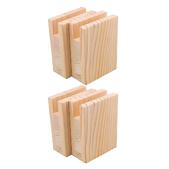 10x5cm Lift Height Table Bed Storage Lift Raisers Set of 4
