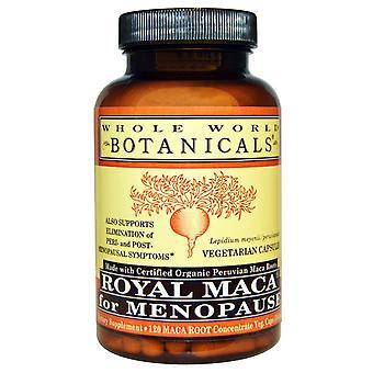Whole World Botanicals, Royal Maca for Menopause, 500 mg, 120 Vegetarian Capsule