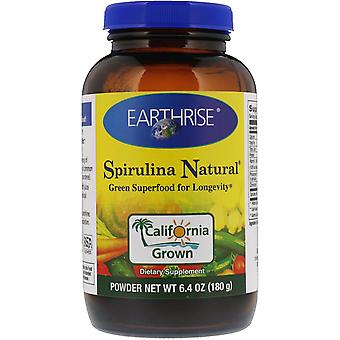 Earthrise, Spirulina Natural Powder, 6.4 oz (180 g)