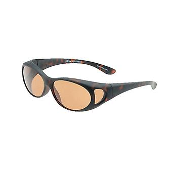 Sunglasses Unisex brown with brown lens Vz0002lj