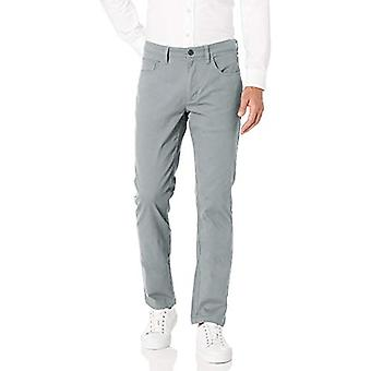 Marca - Goodthreads hombres's Slim-Fit 5-Pocket Chino Pant, gris claro 36W...