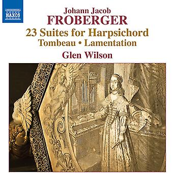 Froberger / Wilson, G. - Froberger: 23 Suites for Harpsichord [CD] USA import
