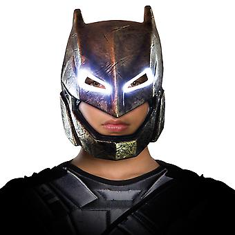 Armored Batman v Superman Dawn of Justice Superhero Boys Costume Light-Up Mask