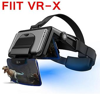 Fiit Ar-x Ar Smart Briller Forbedret 3d Vr Briller Box Hodetelefoner- Virtual Reality Hjelm Vr Headset For 4.7-6.3 tommers Smartphone