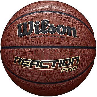 Wilson Reaction Pro Basketball Tan - Size 6