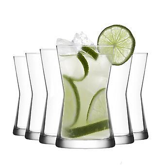 LAV Derin Highball Cocktail Tumbler Glasses - 350ml - Pacote de 12 Óculos highball para coquetéis