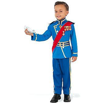 Royal Prince Charming Renæssance Fairytale Story Book Uge Børne drenge Kostume