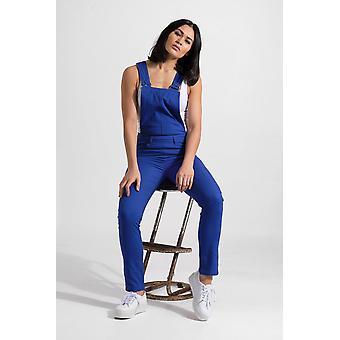 Slim fit dungarees - blue bib overalls