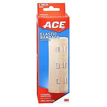 Ace Elastic Bandage With Clips, 6 inches 1 each