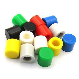 Kunststoff-Cap-Kits taktilen Druckknopf, Schalter Deckel Bucht