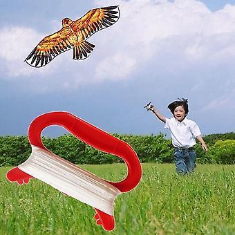 في الهواء الطلق الرياضة تطير طائرة ورقية خط سلسلة مع D شكل Winder المجلس أداة الطائرات الورقية يطير