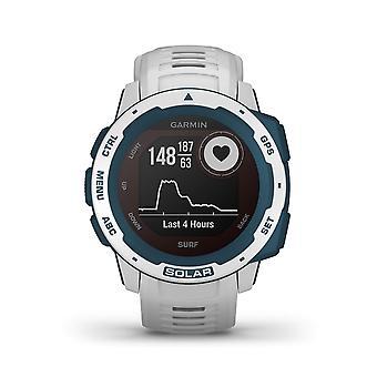 Garmin 010-02293-08 Instinct Solar Surf Edition GPS Wit Siliconen Horloge
