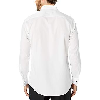 Brand - Buttoned Down Men's Tailored Fit Easy Care Bib-Front Spread-Collar Tuxedo Shirt