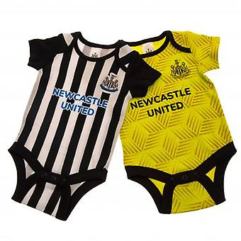 Newcastle United 2 Pack Bodysuit 12-18 Months