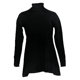 Linea door Louis Dell'Olio Women's Top Knit Swing Turtleneck Black A268137