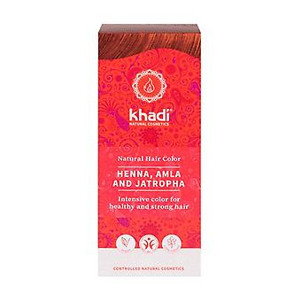Natural Henna with Amla and Jatropha 100 g (Red)