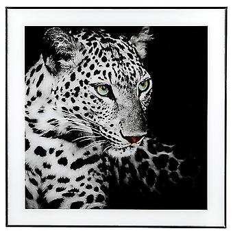 Decor Picture Square Large Leopard