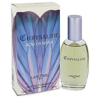 Chrysalide nu eller aldrig Eau De Toilette Spray af Lancome 1 oz Eau De Toilette Spray