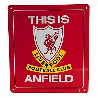Liverpool FC This Is Anfield Plaque