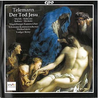 G.P. Telemann - Telemann: Der Tod Jesu [CD] USA import