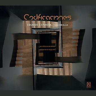 Santiago / Espinosa / Onix Ensamble - Codificaciones [CD] USA import