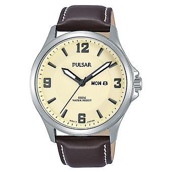 Mens Watch Pulsar PJ6085X1, Quartz, 42mm, 10ATM