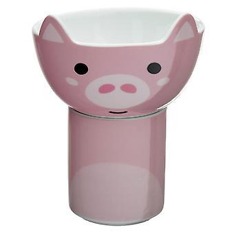 ספל חרסינה לילדים סט קערה - חזיר cutiemals