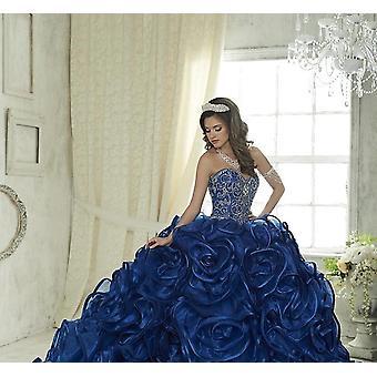 Jupe à volants en cristal perlé Sweet 16 Dress