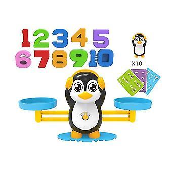 Süße Cartoon Tier digitale Balance Spielzeug, digitale Ergänzung und Subtraktion Arithmetische Brettspiel