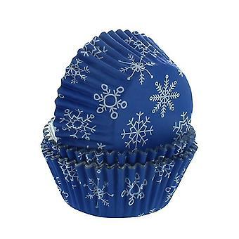 PME - Cajas de hornear copo de nieve - 30 piezas