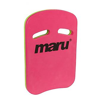 Maru Two Grip Fitness Kickboard - Pink/Lime
