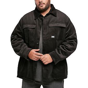 Urban Classics - Corduroy Cord Jacket musta