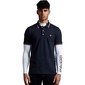 Lyle & Scott Mens Seasonal Getipt Regular Fit Polo Shirt