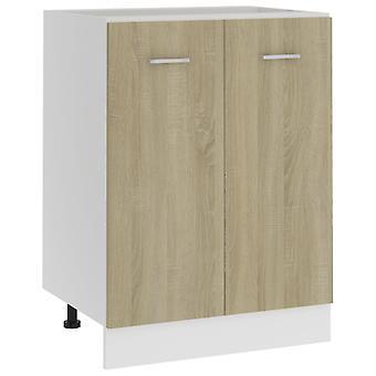 Bottom Cabinet Sonoma Oak 60x46x81.5 Cm Chipboard